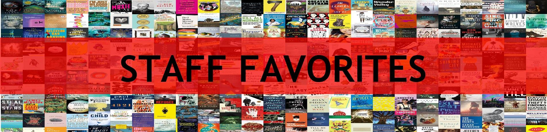 Staff Favorite Books
